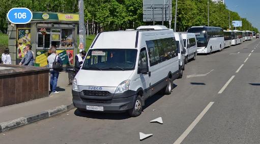 mini-bas to Domodedovo airport