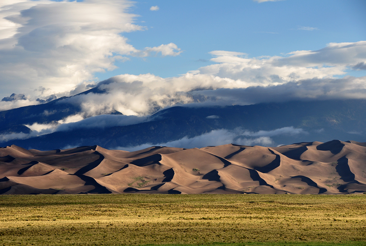 Great Sand Dunes in Colorado