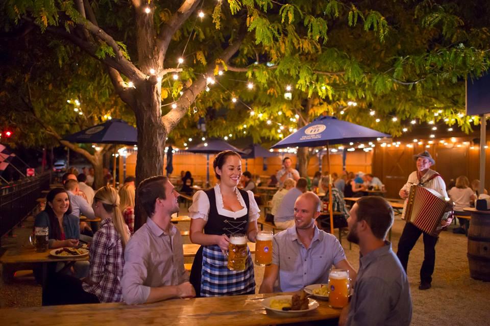 Hofbrauhaus beer garden, Germany