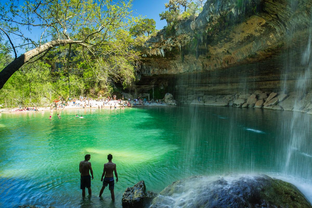 Hamilton Pool, Texas