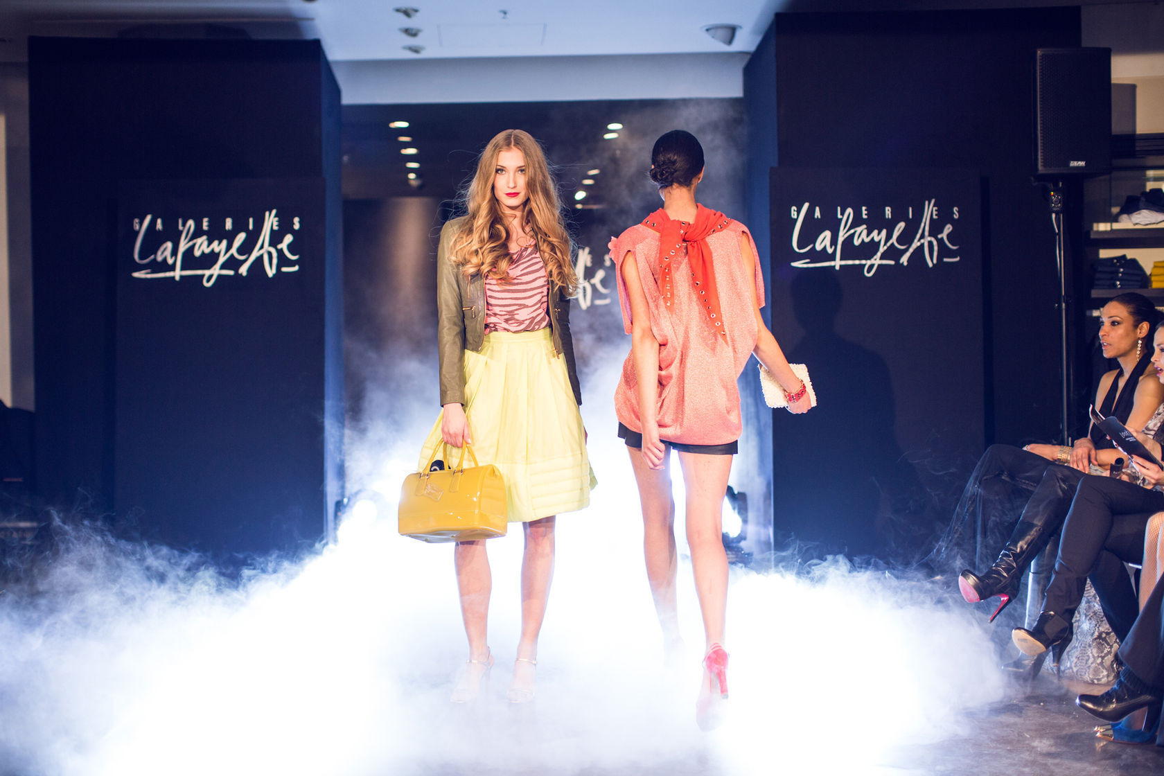 Galeries Lafayette free fasion show
