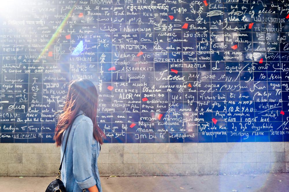 Love Wall in Paris