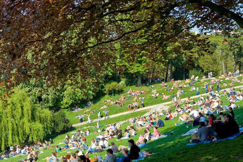 Parc des Buttes Chaumont park