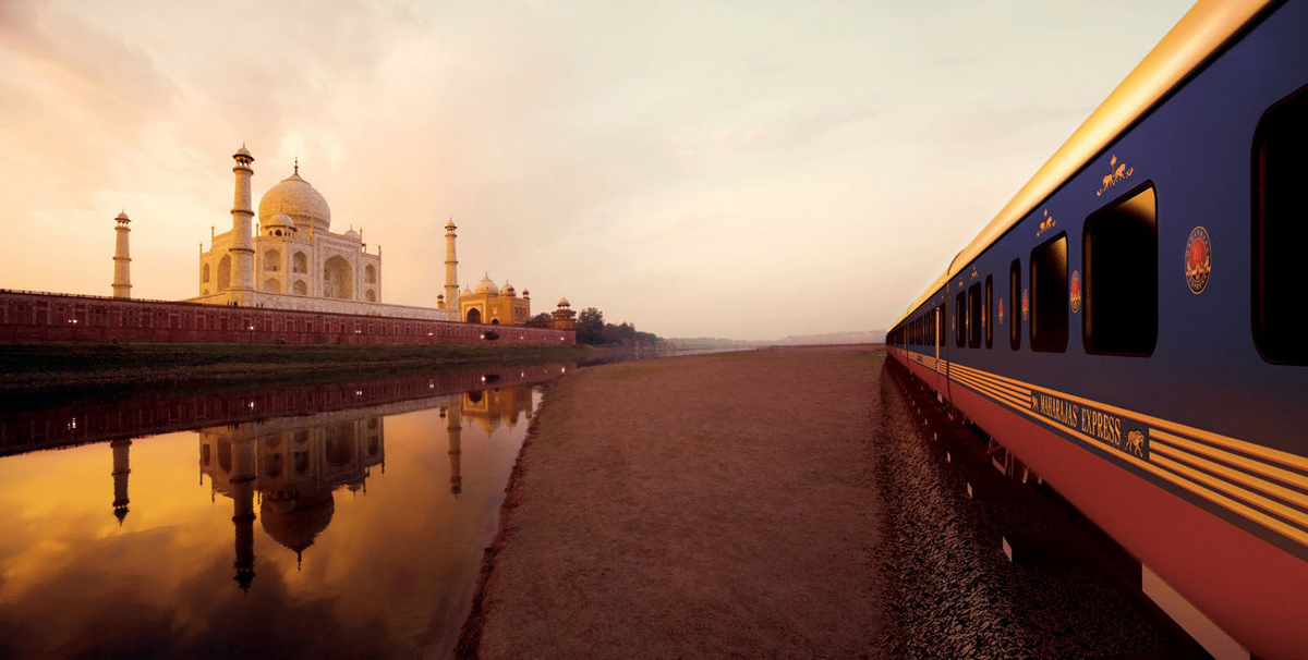 Travel by train in India
