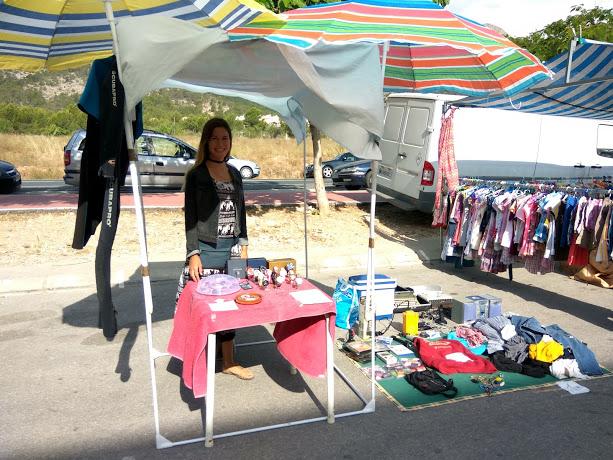 earn money at flea market