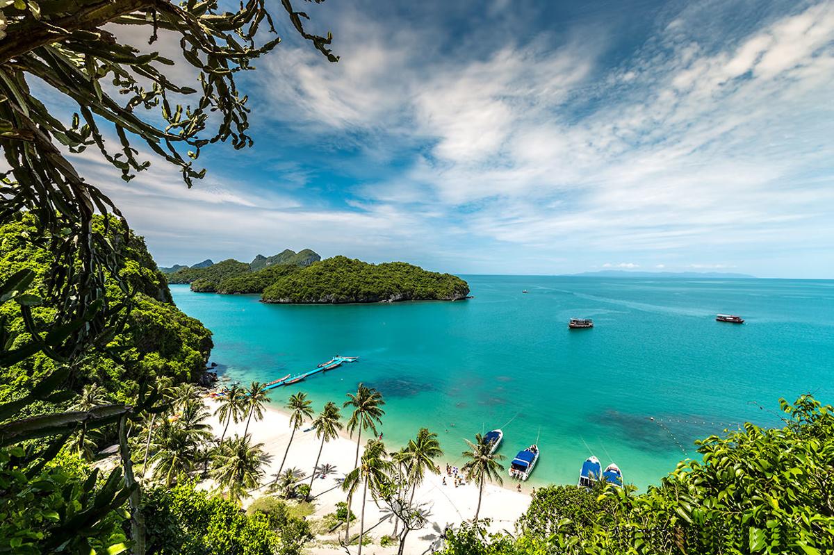 the best beaches in Thailand - Samui Island