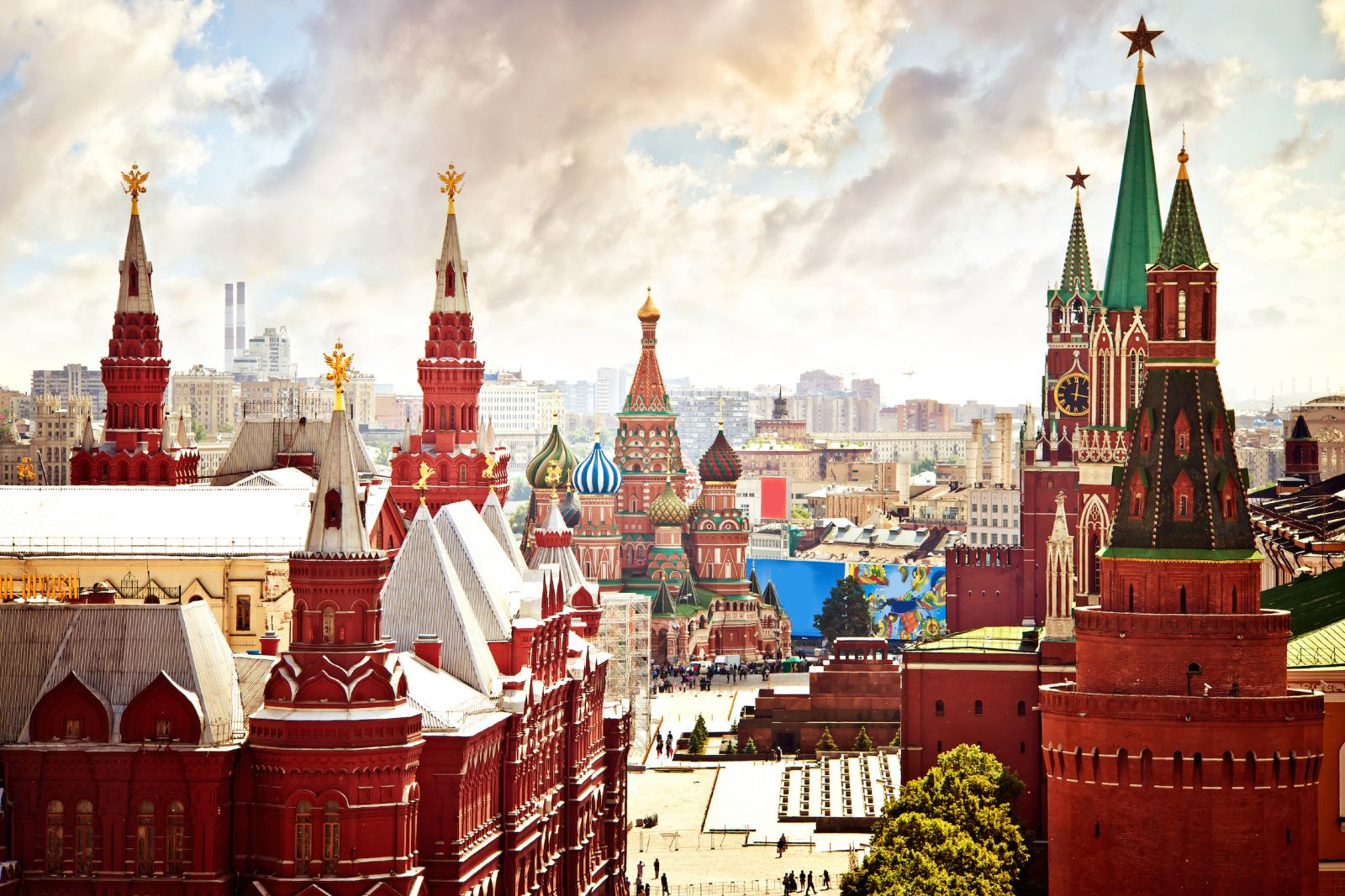 Top Attractions in Moscow, Russia