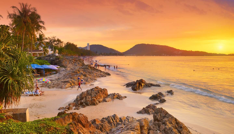 the best beaches in Thailand - Phuket beach