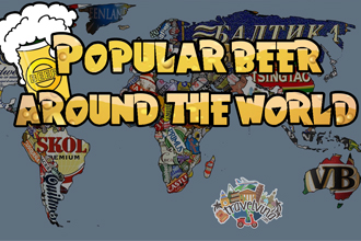 Popular beer in the world